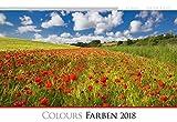 Die Kunst der Fotografie - Farben 2018 - Bildkalender quer (50 x 34) - Landschaftskalender - Naturkalender