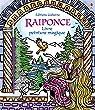 Raiponce - Livre peinture magique par Davidson