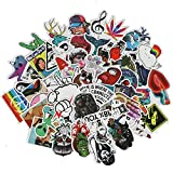 Reefa 50 Pcs Waterproof Mixed PVC Stickers for Luggage Laptop Skateboard Bicycle Motorcycle Car Styling Decals Cool DIY Sticker