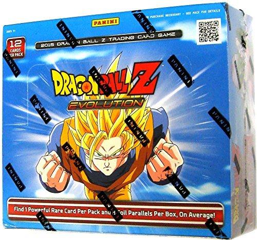 DBZ EVOLUTION Booster Box - 2015 Dragonball Z TCG Card Game! 24 packs!! by Dragonball Z (Panini Dragon Z Ball)