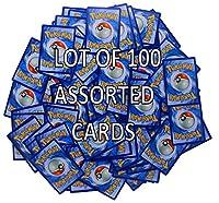 100 verschiedene Pokémon-Sammelkarten