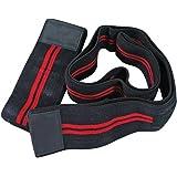 Best Body Nutrition Bandagen Body - Kniebandagen black red, Paar