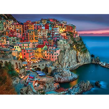 Buffalo Games Signature Series Cinque Terre 1000pc Jigsaw Puzzle Toys Games