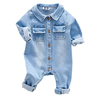 1c1e8a419f6c9 MAOMAO Combinaison Body Barboteuse Pyjama Cartoon pour Bébé de Naissance  Unisexe Fille Garçon en Coton Manches Longues en Automne au Printemps  3