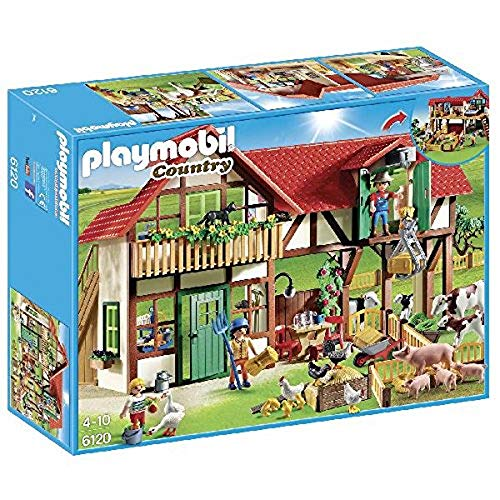 Playmobil 6120 Country Large Farm, Multi-Colour
