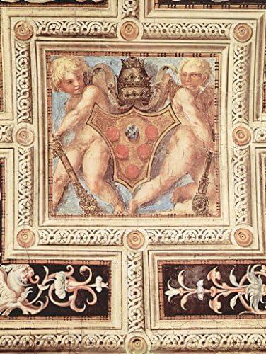 Lais Puzzle Jacopo Pontormo - voûte, voûte, voûte, putti avec Blason du Pape 100 Pieces | De Première Qualité  7a4b70