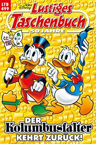 Lustiges Taschenbuch Nr. 499: Der Kolumbusfalter kehrt zurück! (Donald Cartoons Disney Duck Halloween)