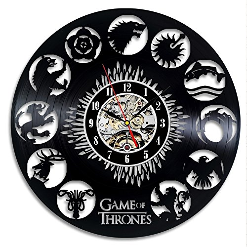Game of Thrones Vintage-Vinyl-Taktgeber-Wand-Dekoration-Geschenk