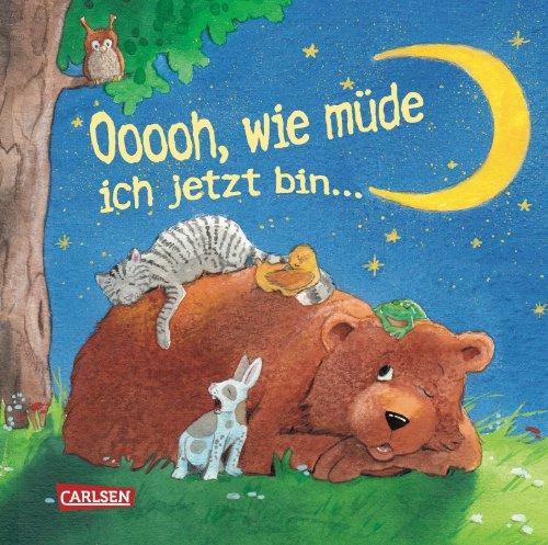 Buchseite und Rezensionen zu 'Ooooh, wie müde ich jetzt bin ...' von Sabine Cuno
