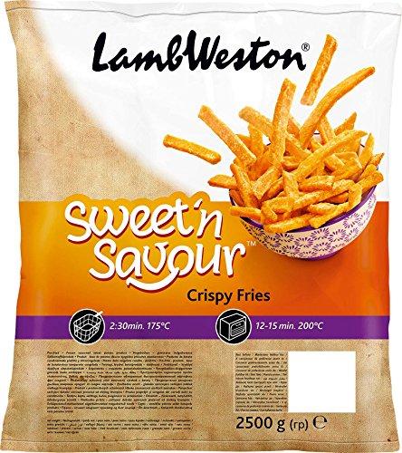 Preisvergleich Produktbild LambWeston - Sweet'n Savour Crispy Fries Süßkartoffelpommes TK - 2,5kg