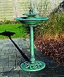 Exklusives VOGELBAD mit Brunnen und elektrischer Pumpe