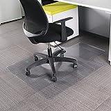 MultiWare Tapis Protège-sol Chaise De Bureau Pour Parquets Transparent Forme D