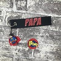Schlüsselanhänger Papa - Mein Superheld