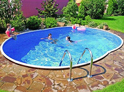 swimming pool kit 18x12ft oval rattan furniture shop uk interior furniture. Black Bedroom Furniture Sets. Home Design Ideas