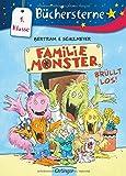 Familie Monster brüllt los!: Mit 16 Seiten Leserätseln und -spielen (Büchersterne)