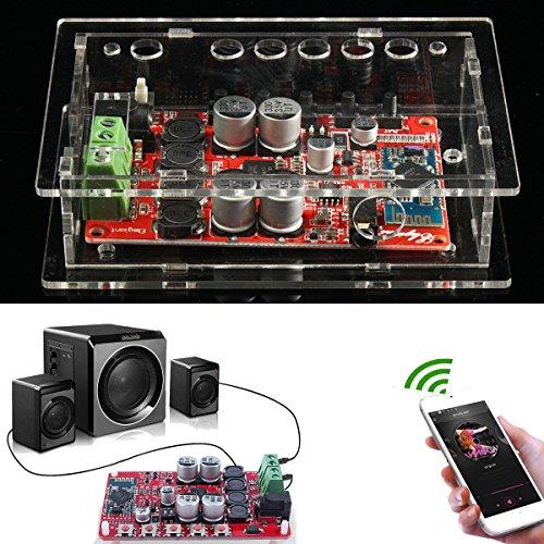 LaDicha Conseil D'Amplificateur Numérique Audio Sans Fil De Tda7492P 100W Bluetooth Avec Le Cas