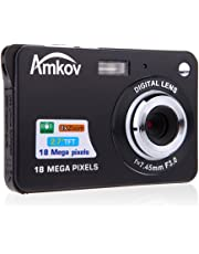 "Docooler HD Digital Camera 18MP 2.7"" TFT 8X Zoom Smile Capture Anti-Shake Video Camcorder"