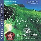 Hannabach 653117 888 GreenLine Cordes pour Guitare Classique