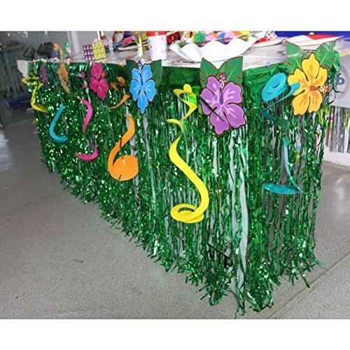 huplue-Luau-hawaiano-mesa-de-fiesta-flores-falda-flores-de-mesa-de-fiesta-decoracin-fiesta-Artificial-Borlas-Cortina-Decoracin-para-mesa-flecos