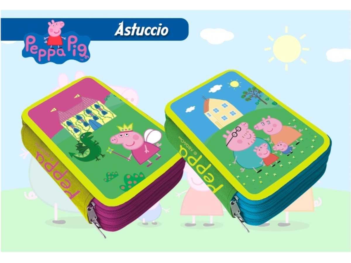 Estuche 3bisagras Peppa Pig