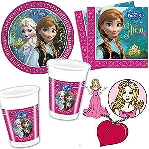 Procos set per feste composto da piatti di carta for Piatti e bicchieri per feste bambini