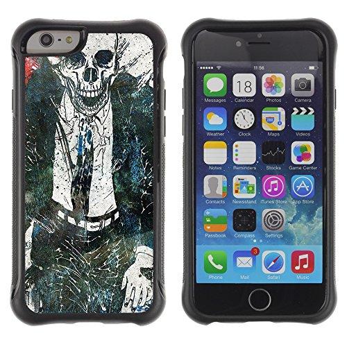 Graphic4You Artist Portrait Design Shockproof Anti-Rutsch Weichen Hülle Case Tasche Schutzhülle für Apple iPhone 6 Plus / 6S Plus Design #1