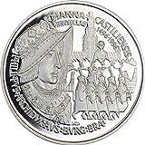 Belgien Johanna castiliensis 1996Münze, Silber proof