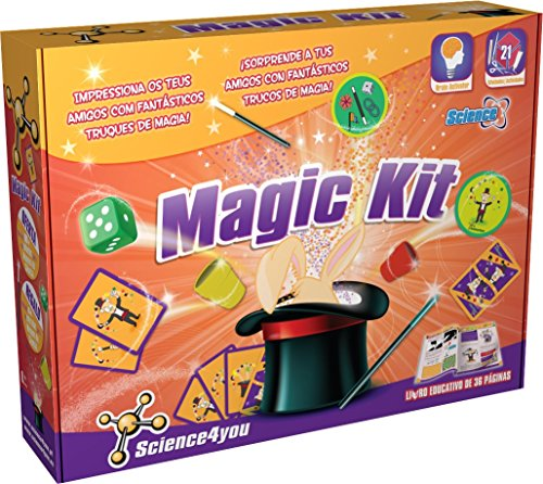 SCIENCE4YOU MAGIC KIT - JUGUETE CIENTIFICO Y EDUCATIVO