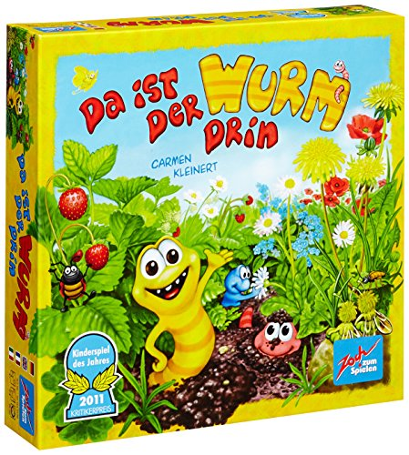Preisvergleich Produktbild Noris Spiele Zoch 601132100 - Da ist der Wurm drin, Kinderspiel des Jahres 2011