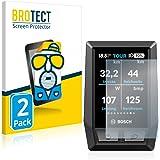 BROTECT 2x Antireflecterende Beschermfolie compatibel met Bosch Kiox Anti-Glare Screen Protector, Mat, Ontspiegelend