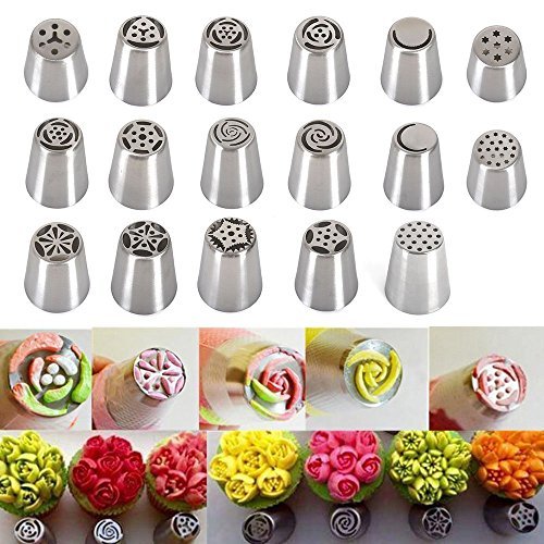 17-reusable-pieces-russian-icing-piping-nozzles-tips-reelva-russian-stainless-steel-cake-decorating-