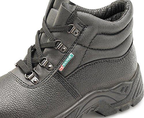 B-Click Footwear , Bottes Chukka homme noir