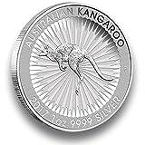 Silbermünze Australien Känguru - 2017 - 1 Unze - prägefrisch (Perth Mint) - einzeln in Münzkapsel verpackt