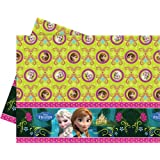 Tischdecke * Frozen - Die Eiskönigin * für Party und Geburtstag // Geburtstag Party Fete Set Disney Prinzessin Anna Mädchen Mottoparty