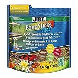 JBL 40153 Rundumernährung für alle Teichfische, PondSticks 4 in 1, 1er Pack (1 x 10 l)