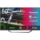 "Hisense ULED 2020 50U7QF - Smart TV 50"" Resolución 4K, Quantum Dot, FALD, Dolby Vision, Dolby Atmos, Vidaa U 4.0 con IA, Alex"