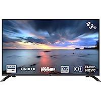HKC 43F3-UK LED TV of 109 cm (43 inch) (Full HD, Triple Tuner, CI +, HDMI, media player via USB…