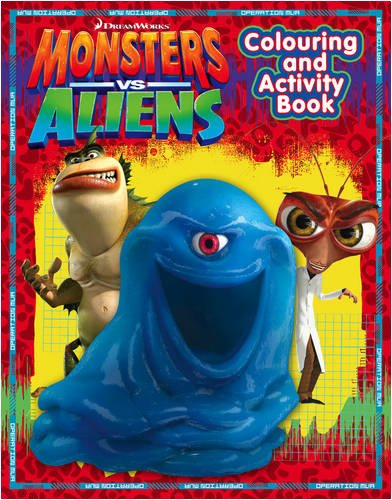 Monsters Vs Aliens – Colouring and Activity Book