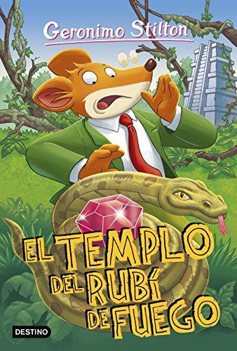 El templo del rubí de fuego: Geronimo Stilton 48: Amazon