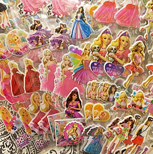 SBS Kid's Favourite Barbie Puffy Stickers - Set of 5