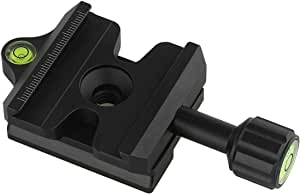 Haoge Cp Ma50ii Quick Release Clamp Adapter Converter Holder For Manfrotto Rc2 System To Arca Swiss Compatible