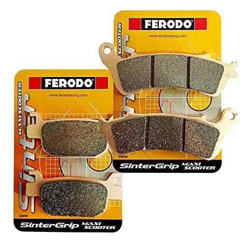 Pastiglie anteriori/posteriori sinterizzate Ferodo FDB2196SM FDB2212SM - H O N D A SH 125/150/300 H O N DA FORZA 250/300
