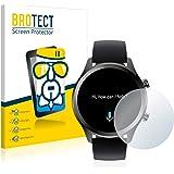BROTECT Glas Screenprotector compatibel met Mobvoi Ticwatch C2 Plus - Beschermglas met 9H hardheid