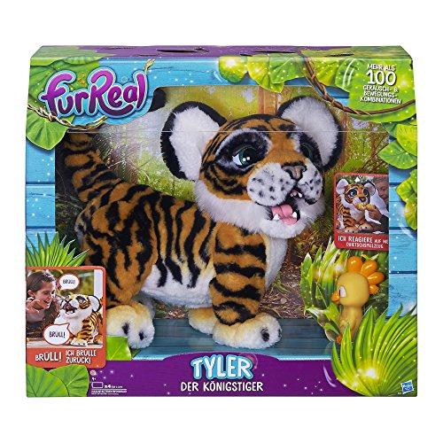 Preisvergleich Produktbild Hasbro FurReal Friends B9071100 - Tyler der Königstiger, Elektronisches Haustier