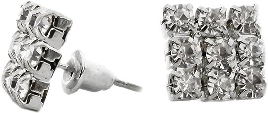 Cardinal crystal gold colour earings for men/boys