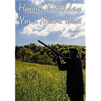 Shooting Birthday Card Amazon Kitchen Home