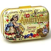 Tesoro Mix–Lata (pequeño amaretti Virginia Chocolate Mint lata pastillero Pastillero Menta Box–Caja de monedas