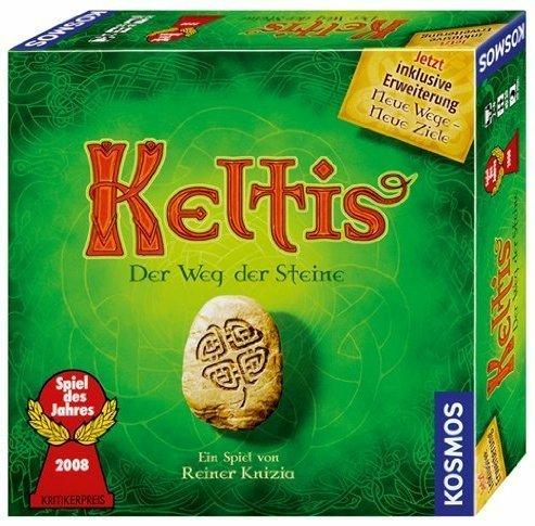 Preisvergleich Produktbild Spiel Keltis mit Erweit-