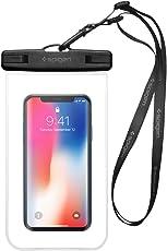 Custodia Impermeabile, Spigen Velo [IPX8 Certificato][Premium Universale Sacchetto Asciutto Subacqueo]Impermeabile Smartphone per iPhone X/8/7/6S, Samsung Galaxy S8/S7/S6/Note8 etc- A600 Crystal Clear