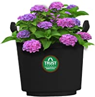 Trust basket Vertical Gardening Pouches XL (Black) - Set of 10